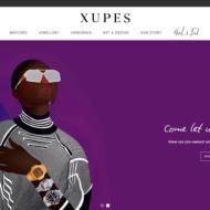 creenshot of Xupes website